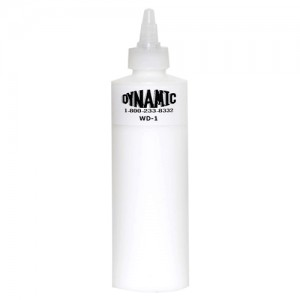 Dynamic white ink for Tattoo ink dynamic