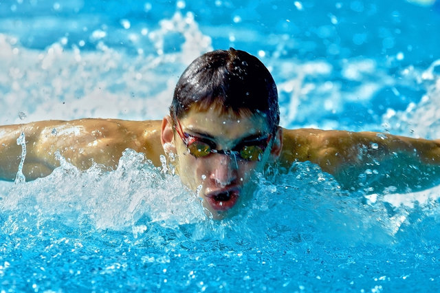 Swimmer_in_waterpool_swim_one_of_swimming_style